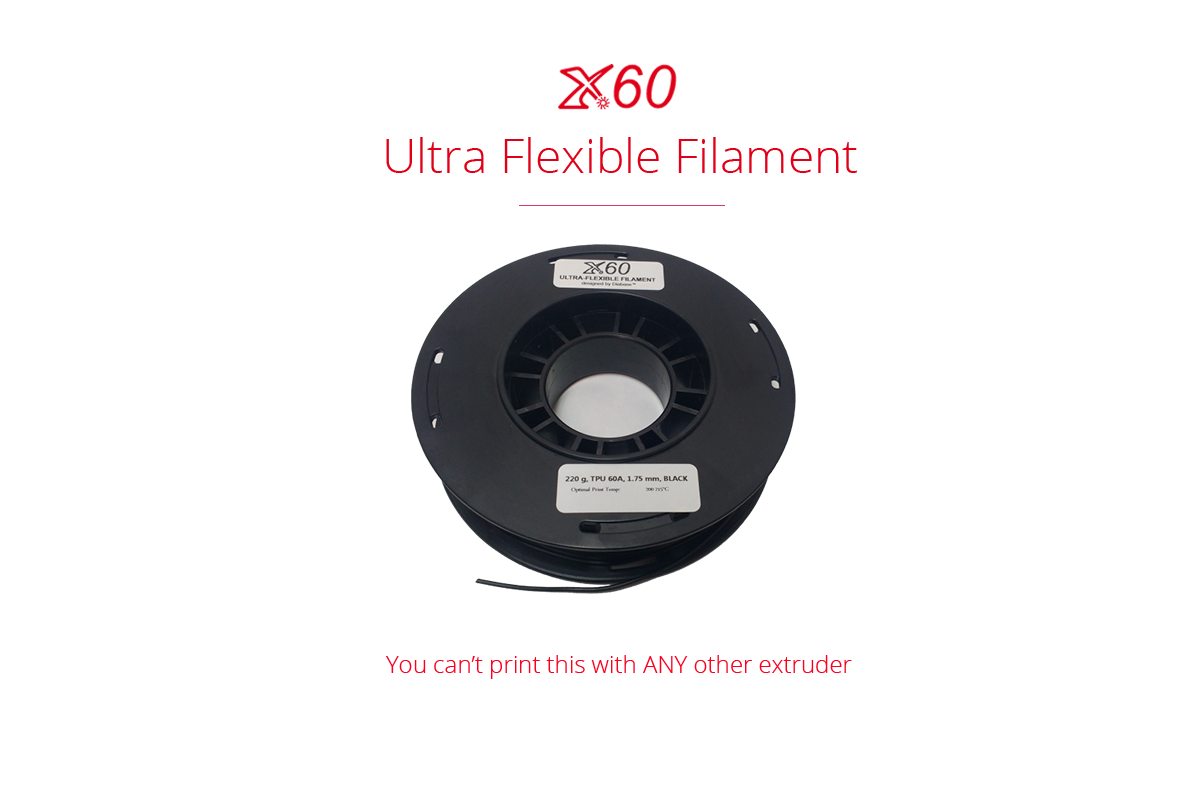 Ultra flexible filament product page